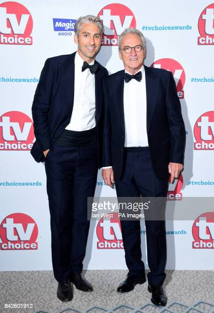 George and Larry Lamb attending the TV Choice Awards 2017 held at The Dorchester Hotel London