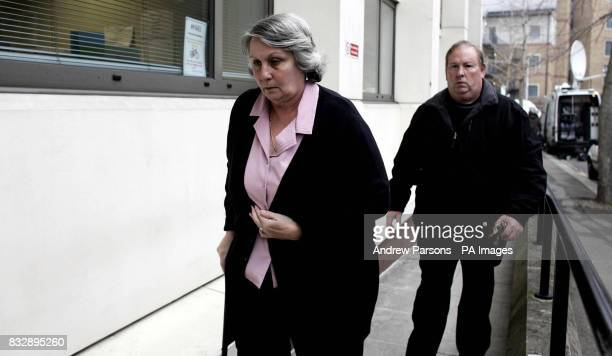 George and Wendy the Parents of Sarah Chambers who was trapped by Dr May Arnoat's 4x4 against a noentry sign