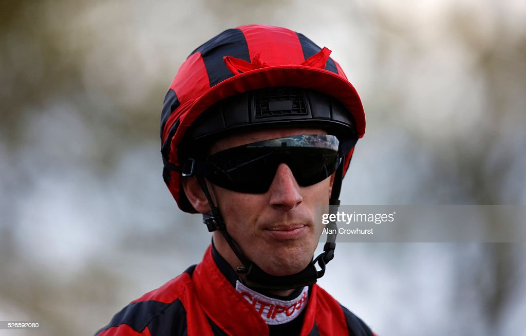 George Baker poses at Newmarket racecourse on April 30, 2016 in Newmarket, England.