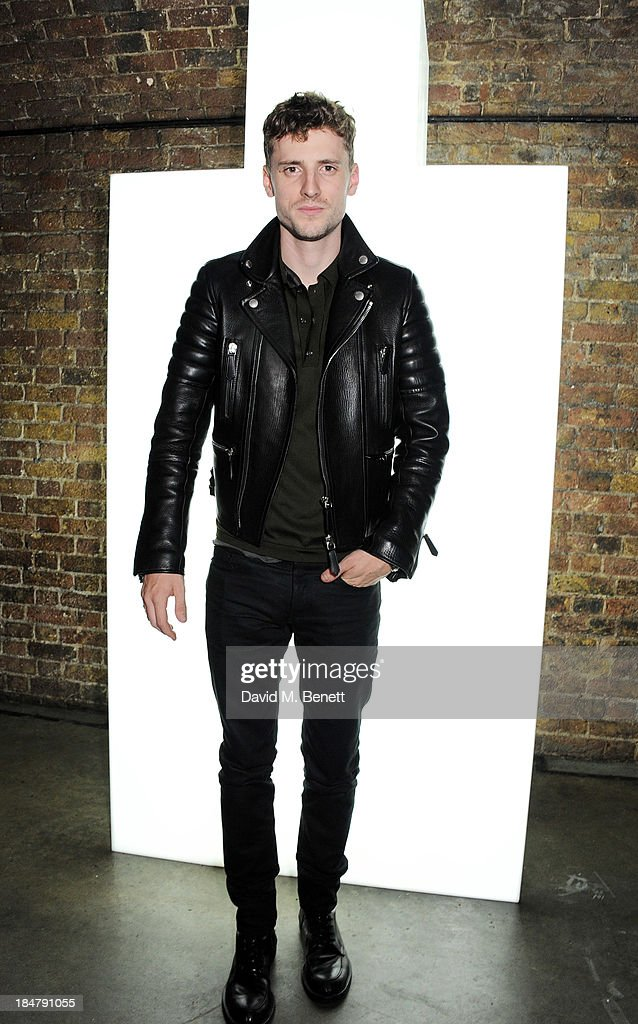 George Barnett attends the Burberry Brit Rhythm gig in London at Village Underground on October 16, 2013 in London, England.