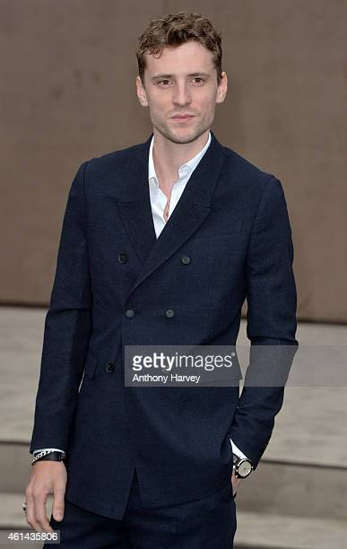 George Barnett attends the Burberry Prorsum show at the London Collections Men AW15 on January 12 2015 in London England