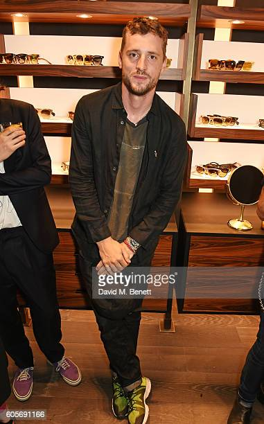 George Barnett attends the first Oliver Peoples boutique launch in Europe on September 14 2016 in London England