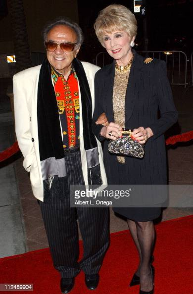George Barris and Karen Sharp during The Jules Verne Adventure Film Festival and Expositions Arrivals at The Shrine Auditorium in Los Angeles...