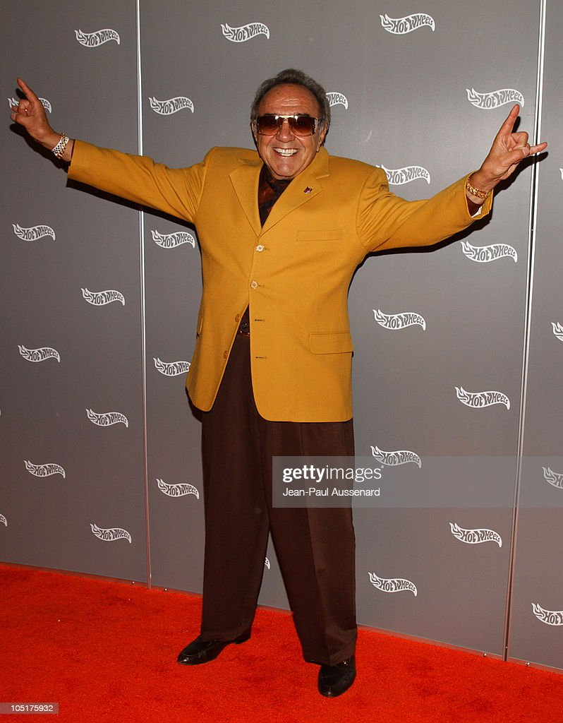 George Barris during Hot Wheels Hall of Fame Induction Gala and Charity Benefit - Orange Carpet at Petersen Automotive Museum in Los Angeles, California, United States.