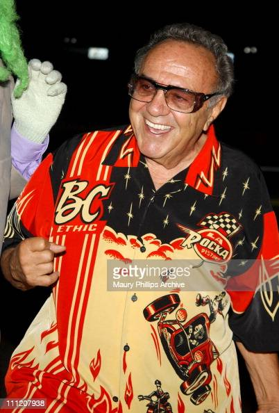 George Barris during 'Uncle Davvers Really Scary Movie Show' World Premiere at Silent Movie Theater in Hollywood California United States