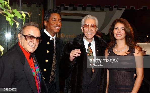 George Barris Jermaine Jackson Mr Blackwell and Alejandra