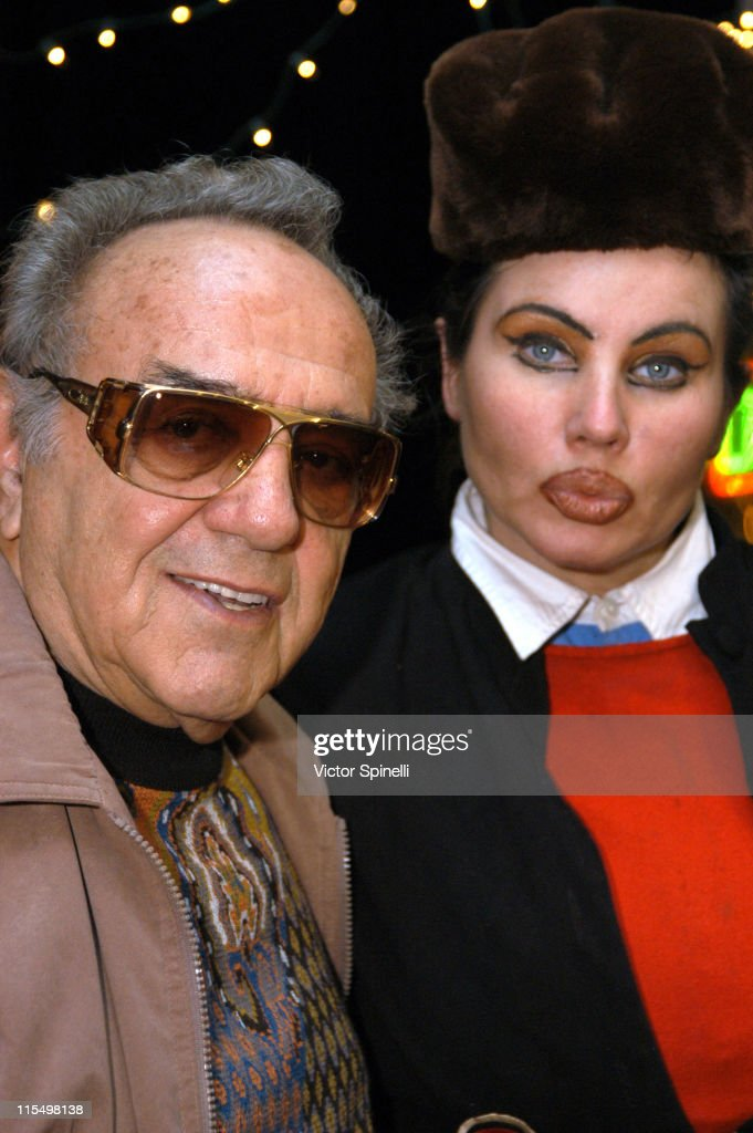 George Barris & Natasha during 'The Adventures of Scooter McDoogal' Premiere - Los Angeles at Capricios in Los Angeles, California, United States.