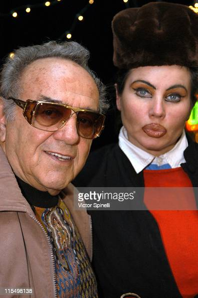 George Barris Natasha during 'The Adventures of Scooter McDoogal' Premiere Los Angeles at Capricios in Los Angeles California United States