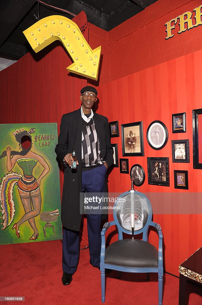 George Bell attends Immortal Love Pop-up Experience - Freakshow & Immortalized on February 7, 2013 in New York City.