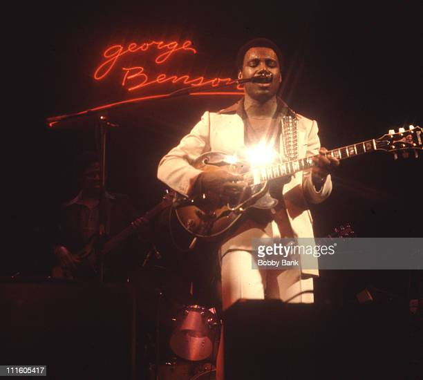 George Benson during George Benson in Concert at The Beacon Theater in New York City May 7 1978 at Beacon Theater in New York City New York United...