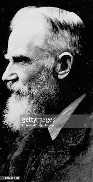 George Bernard Shaw Irish dramatist critic and Fabian After a photograph published London c1930