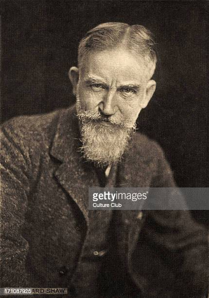 George Bernard Shaw portrait English writer