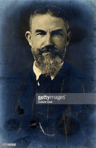 George Bernard Shaw portrait Irish dramatist 26 July 1856 2 November 1950
