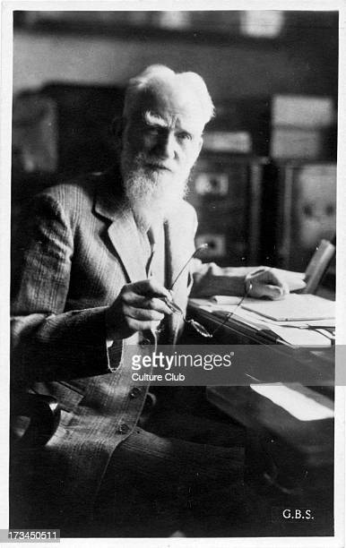 George Bernard Shaw portrait Irish playwright 26 July 1856 – 2 November 1950