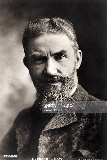 George Bernard Shaw portrait of the Irish dramatist critic and Nobel Prize winner 26 July 1856 2 November 1950