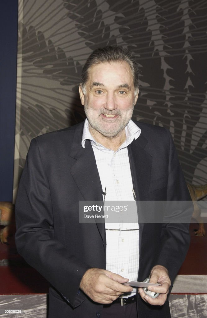 <a gi-track='captionPersonalityLinkClicked' href=/galleries/search?phrase=George+Best&family=editorial&specificpeople=206235 ng-click='$event.stopPropagation()'>George Best</a> at the FIFA 100 Best Players Party held at the Natural History Museum on 4th March 2004, in London. (Photo by Dave Benett/Getty Images).