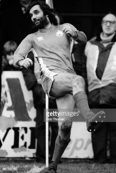 George Best of Bournemouth in action against Newport County during their Division Three League match held at Dean Court Bournemouth on 26th March...