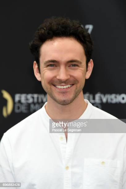 George Blagden from 'Versailles' attends a photocall during the 57th Monte Carlo TV Festival Day 2 on June 17 2017 in MonteCarlo Monaco