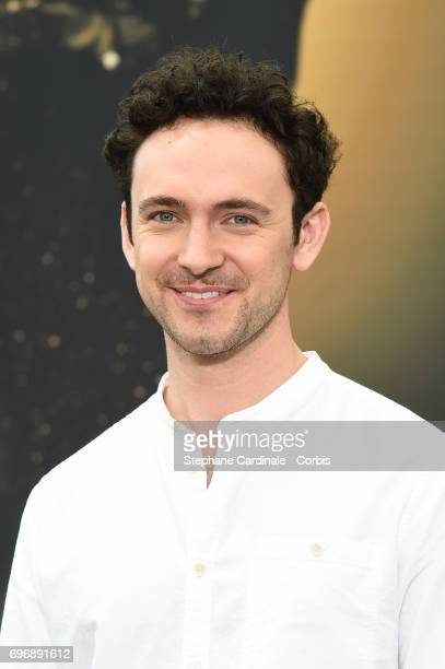 George Blagden from 'Versailles' poses for a Photocall during the 57th Monte Carlo TV Festival Day Two on June 17 2017 in MonteCarlo Monaco