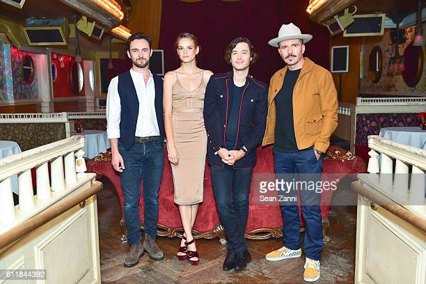 George Blagden Noemie Schmidt Alexander Vlahos and Tygh Runyan attend Ovation TV Celebrates the October 1st Premiere of the HighlyAnticipated Drama...