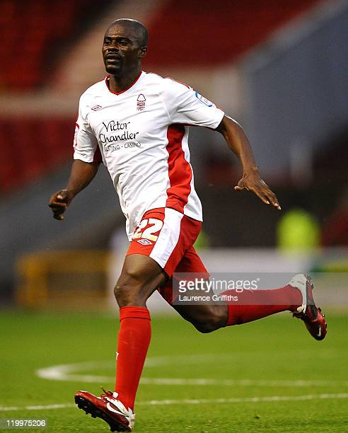 George Boateng of Nottingham Forest in action during the Pre Season Friendly match between Nottingham Forest and PSV Eindhoven at City Ground on July...