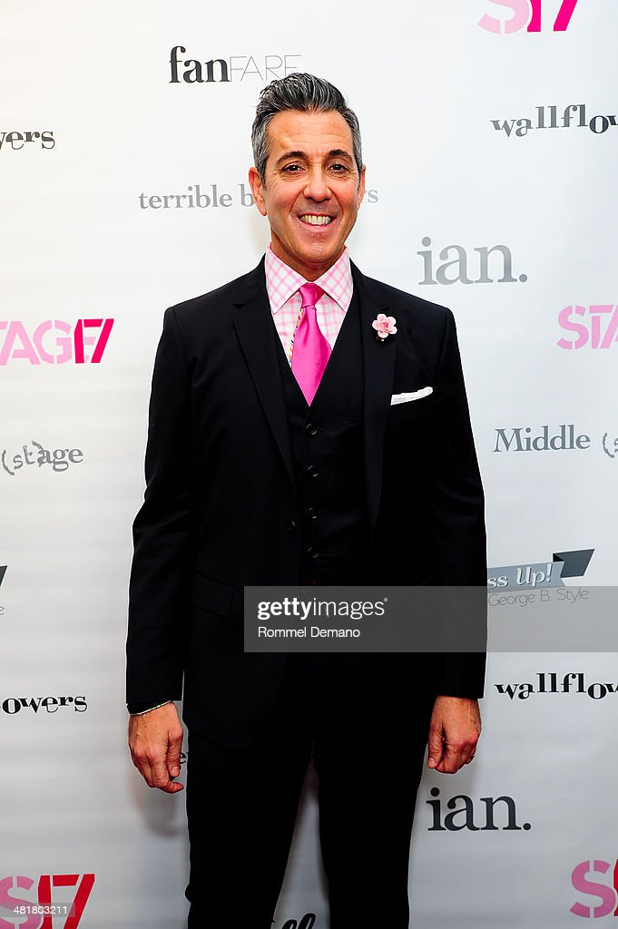 George Brescia attends the Stage17 Premiere at Walter Reade Theater on March 31, 2014 in New York City.