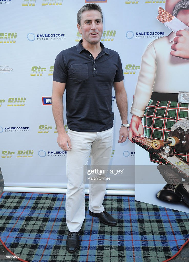 George Brown attends the 'Sir Billi' press screening at The Grosvenor Cinema on September 5, 2013 in Glasgow, Scotland.