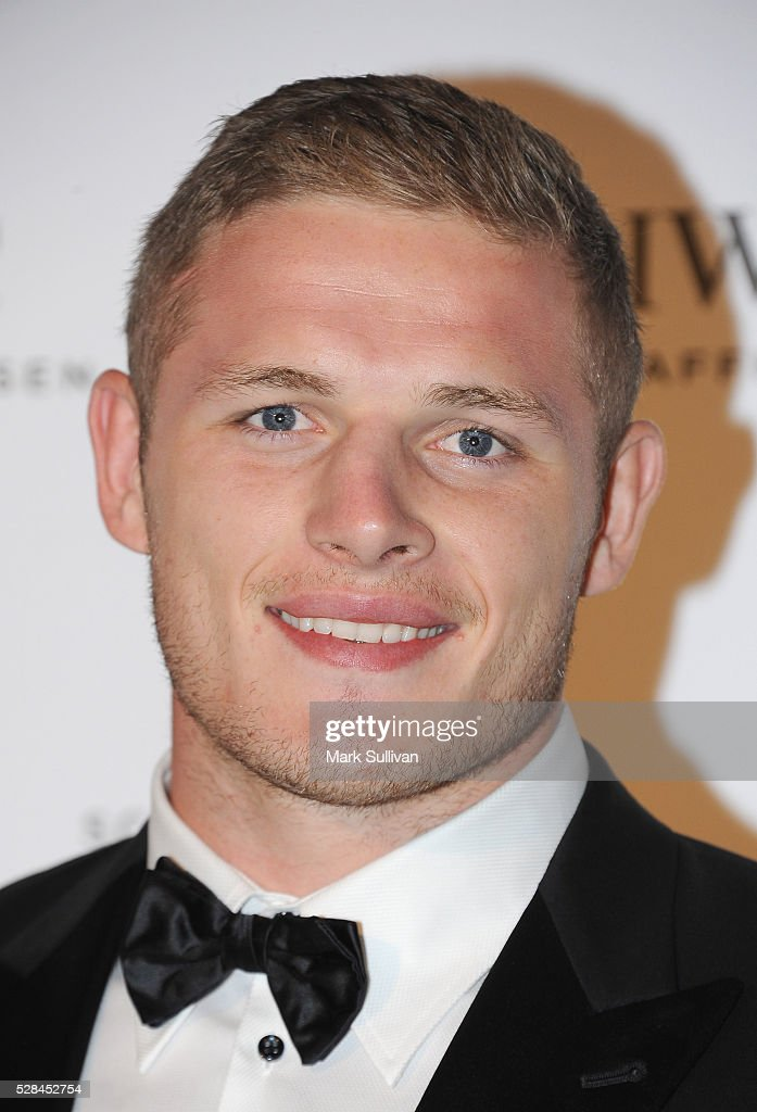 George Burgess attends the launch of IWC Schaffhausen's pilots watch launch at Sydney Theatre Company on May 5, 2016 in Sydney, Australia.