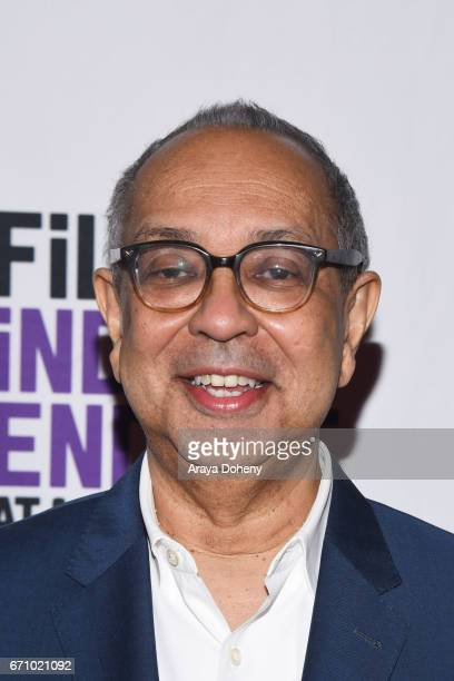 George C Wolfe attends the Film Independent at LACMA Special Screening and QA of 'The Life Of Henrietta Lacks' at Bing Theatre At LACMA on April 20...