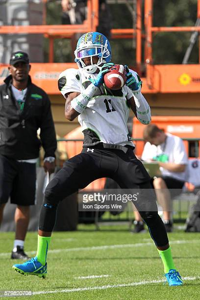 George Campbell of Tarpon Springs FL during the 2014 Under Armour AllAmerican practice at Disney's ESPN Wide World of Sports Complex in Kissimmee...
