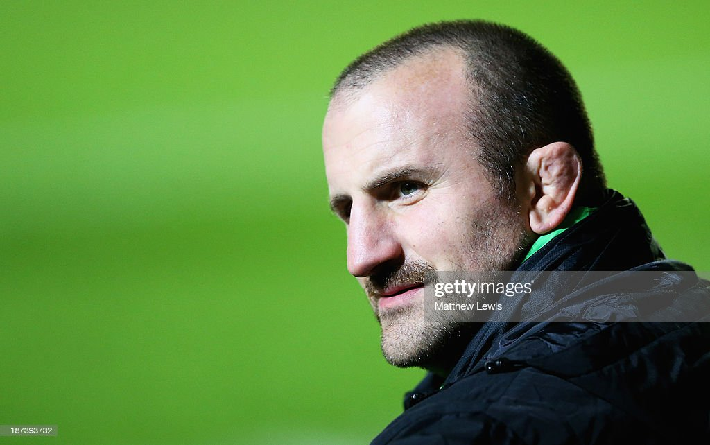 George Chuter of the Leicester Tigers sports a moustache for Movember during the LV=Cup match between Leicester Tigers and Ospreys at Welford Road on November 8, 2013 in Leicester, England.