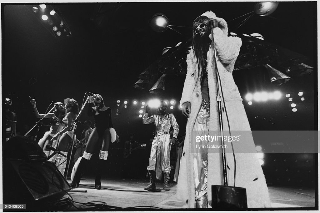 George Clinton and the P-Funk All-Stars on Stage
