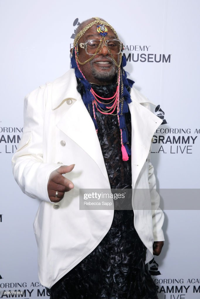 George Clinton attends An Evening With George Clinton at The GRAMMY Museum on August 9, 2017 in Los Angeles, California.