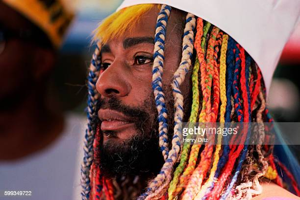 George Clinton During Music Video Shoot