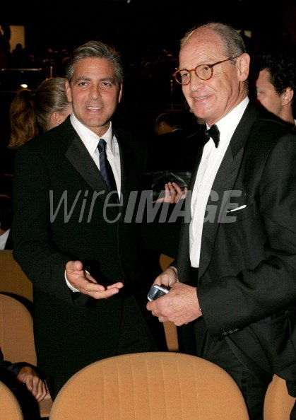 George Clooney and Conte Giovanni...