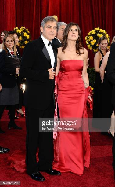 George Clooney and Elisabetta Canalis arriving for the 82nd Academy Awards at the Kodak Theatre Los Angeles
