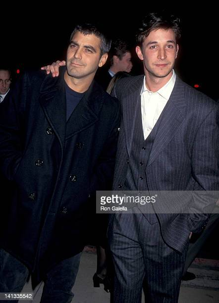 George Clooney and Noah Wyle at the Premiere of 'From Dusk Till Dawn' Pacific's Cinerama Dome Hollywood