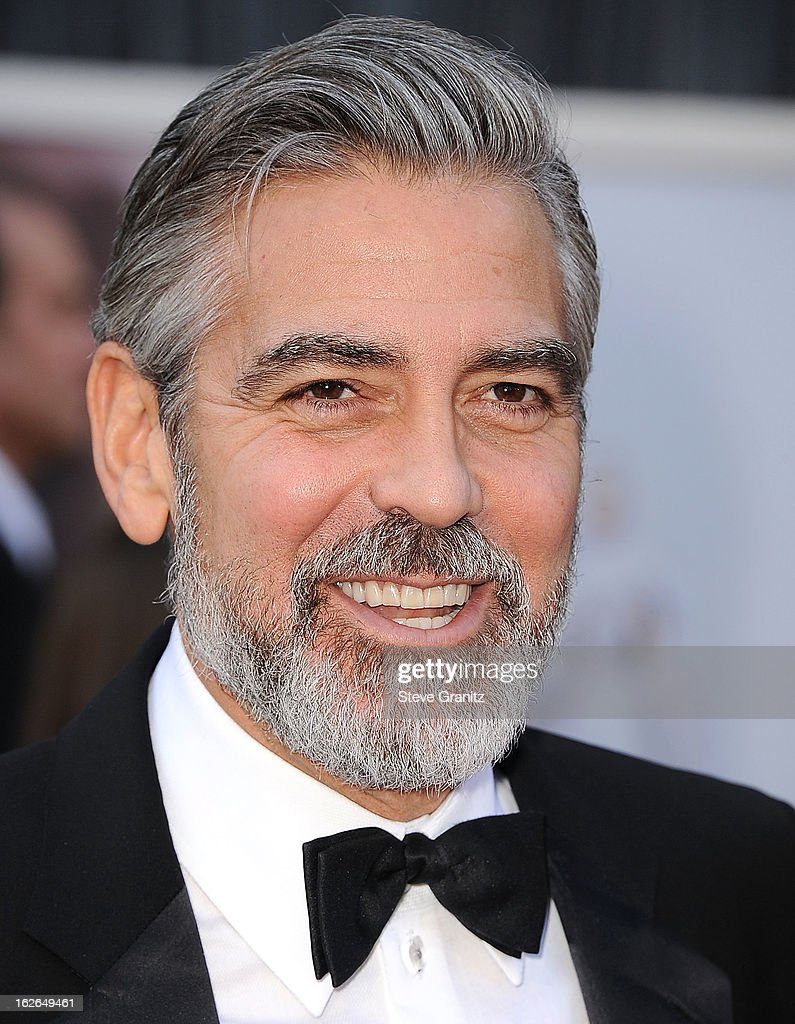 George Clooney arrives at the 85th Annual Academy Awards at Dolby Theatre on February 24, 2013 in Hollywood, California.