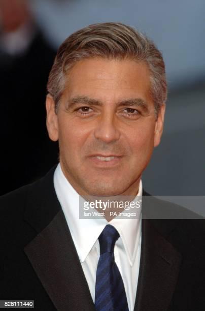 George Clooney arrives for the Ceremonia Di Premiazione Ufficiale at the Palazzo del Casino in Venice for the closing ceremony of the 62nd Venice...
