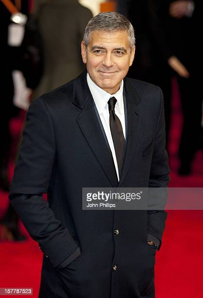 George Clooney Arriving For The 2012 Orange British Academy Film Awards At The Royal Opera House Bow Street London