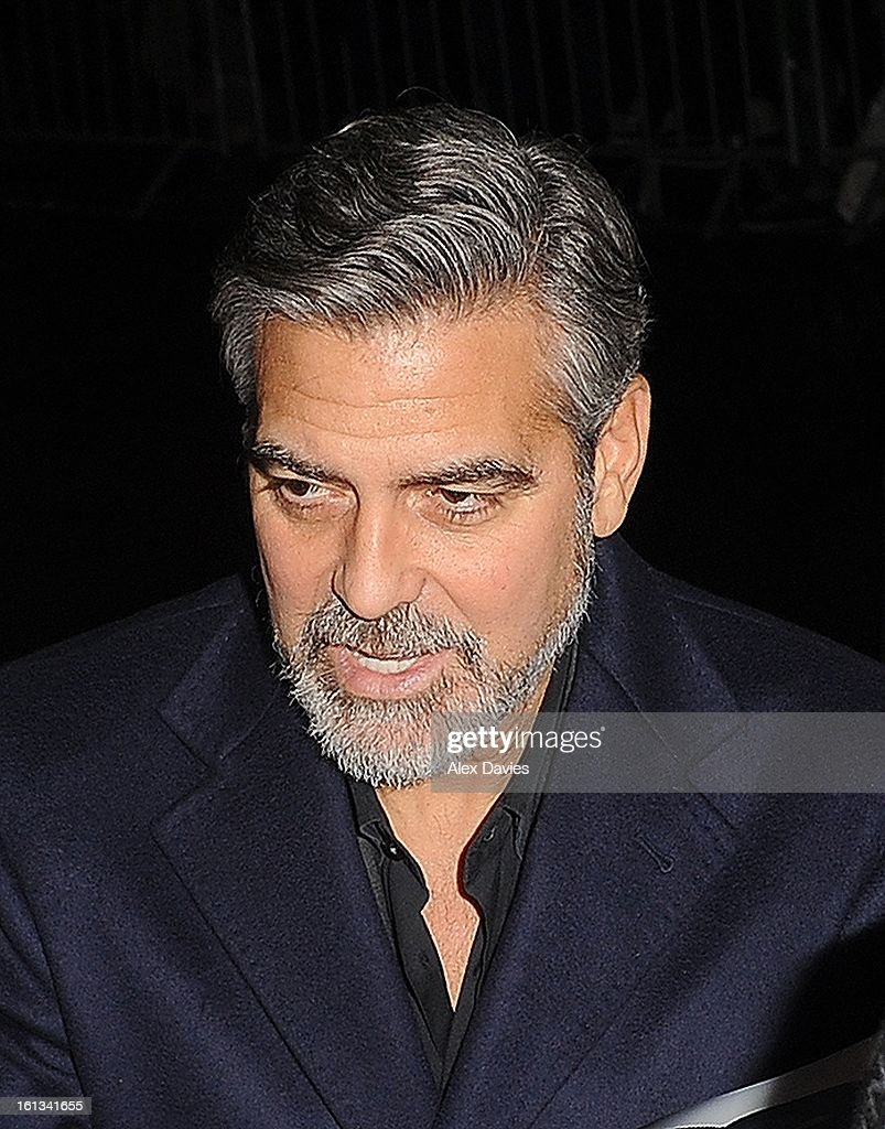 <a gi-track='captionPersonalityLinkClicked' href=/galleries/search?phrase=George+Clooney&family=editorial&specificpeople=202529 ng-click='$event.stopPropagation()'>George Clooney</a> attends Annabel's pre-BAFTA party on February 9, 2013 in London, England.