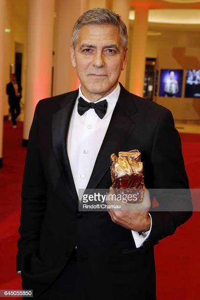 George Clooney attends Cesar Film Award 2017 at Salle Pleyel on February 24 2017 in Paris France