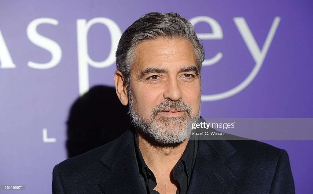 George Clooney attends the EE British Academy Film Awards nominees party at Asprey London on February 9, 2013 in London, England.
