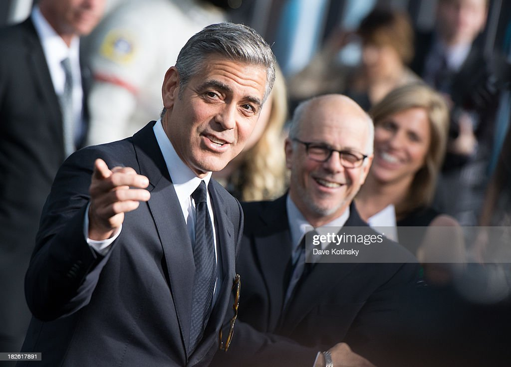 <a gi-track='captionPersonalityLinkClicked' href=/galleries/search?phrase=George+Clooney&family=editorial&specificpeople=202529 ng-click='$event.stopPropagation()'>George Clooney</a> attends the 'Gravity' premiere at AMC Lincoln Square Theater on October 1, 2013 in New York City.