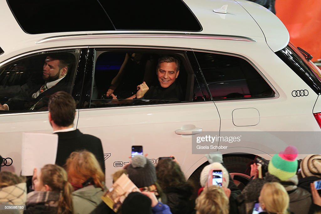 George Clooney attends the 'Hail, Caesar!' premiere during the 66th Berlinale International Film Festival Berlin at Berlinale Palace on February 11, 2016 in Berlin, Germany.