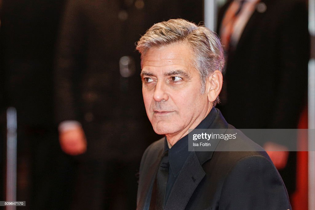 <a gi-track='captionPersonalityLinkClicked' href=/galleries/search?phrase=George+Clooney&family=editorial&specificpeople=202529 ng-click='$event.stopPropagation()'>George Clooney</a> attends the 'Hail, Caesar!' Premiere during the 66th Berlinale International Film Festival on February 11, 2016 in Berlin, Germany.