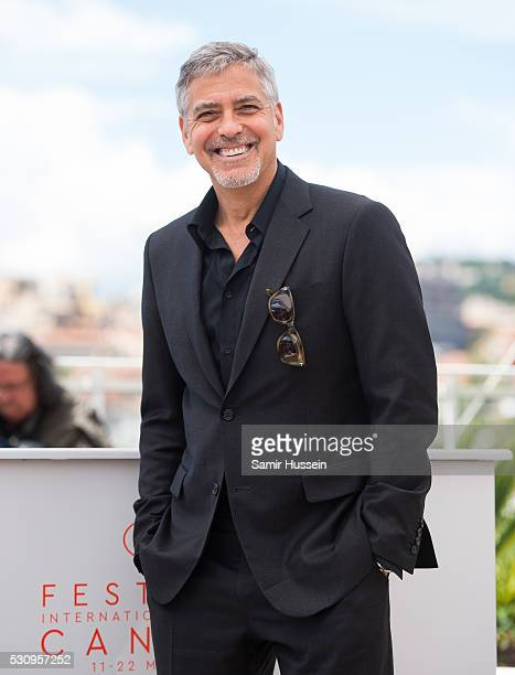 George Clooney attends the 'Money Monster' Photocall at the annual 69th Cannes Film Festival at Palais des Festivals on May 12 2016 in Cannes France