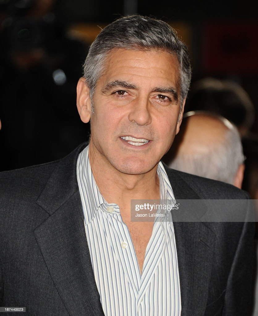 <a gi-track='captionPersonalityLinkClicked' href=/galleries/search?phrase=George+Clooney&family=editorial&specificpeople=202529 ng-click='$event.stopPropagation()'>George Clooney</a> attends the premiere of 'August: Osage County' at the 2013 AFI Fest at TCL Chinese Theatre on November 8, 2013 in Hollywood, California.