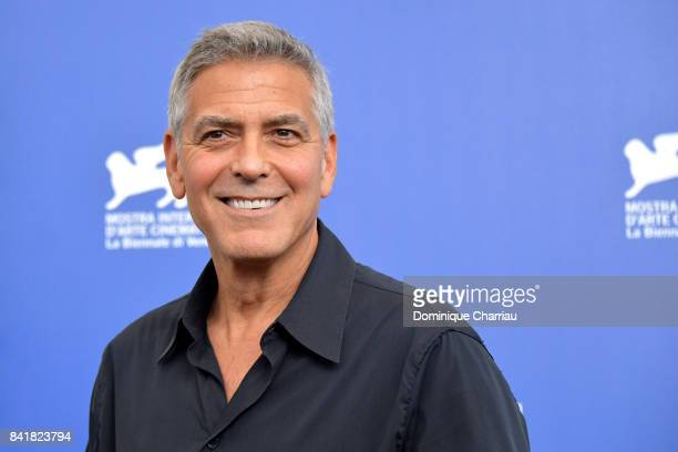 George Clooney attends the 'Suburbicon' photocall during the 74th Venice Film Festival on September 2 2017 in Venice Italy