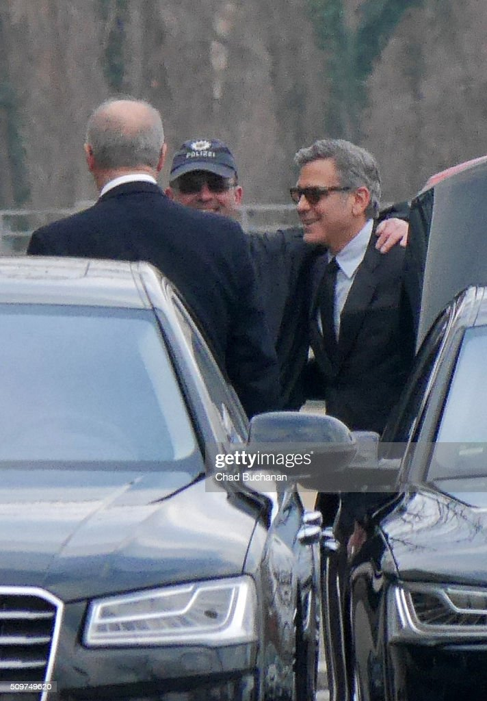 <a gi-track='captionPersonalityLinkClicked' href=/galleries/search?phrase=George+Clooney&family=editorial&specificpeople=202529 ng-click='$event.stopPropagation()'>George Clooney</a> sighted at the German Bundeskanzleramt on February 12, 2016 in Berlin, Germany.
